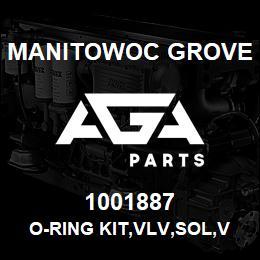1001887 Manitowoc Grove O-RING KIT,VLV,SOL,VICKERS | AGA Parts