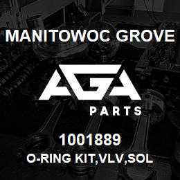 1001889 Manitowoc Grove O-RING KIT,VLV,SOL | AGA Parts