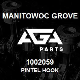 1002059 Manitowoc Grove PINTEL HOOK | AGA Parts