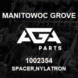 1002354 Manitowoc Grove SPACER,NYLATRON | AGA Parts