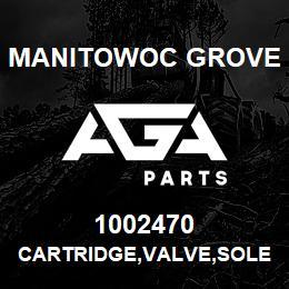 1002470 Manitowoc Grove CARTRIDGE,VALVE,SOLENOID | AGA Parts