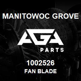 1002526 Manitowoc Grove FAN BLADE | AGA Parts
