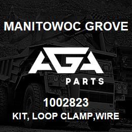 1002823 Manitowoc Grove KIT, LOOP CLAMP,WIRE | AGA Parts