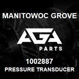1002887 Manitowoc Grove PRESSURE TRANSDUCER | AGA Parts