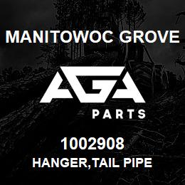 1002908 Manitowoc Grove HANGER,TAIL PIPE | AGA Parts