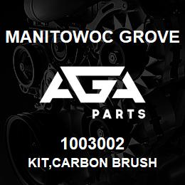 1003002 Manitowoc Grove KIT,CARBON BRUSH | AGA Parts