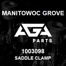 1003098 Manitowoc Grove SADDLE CLAMP | AGA Parts
