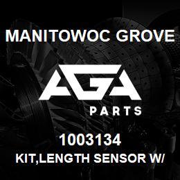 1003134 Manitowoc Grove KIT,LENGTH SENSOR W/HARDWARE | AGA Parts