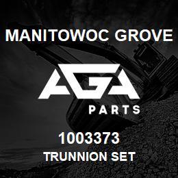 1003373 Manitowoc Grove TRUNNION SET | AGA Parts