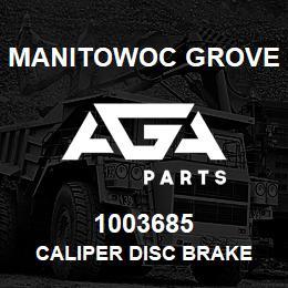 1003685 Manitowoc Grove CALIPER DISC BRAKE | AGA Parts