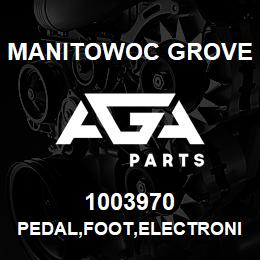 1003970 Manitowoc Grove PEDAL,FOOT,ELECTRONIC | AGA Parts