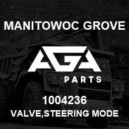 1004236 Manitowoc Grove VALVE,STEERING MODE | AGA Parts