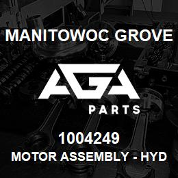 1004249 Manitowoc Grove MOTOR ASSEMBLY - HYDR SWING | AGA Parts