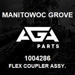 1004286 Manitowoc Grove FLEX COUPLER ASSY. | AGA Parts