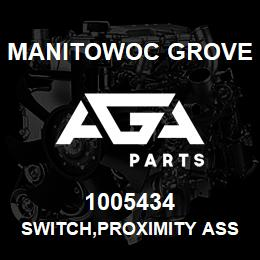 1005434 Manitowoc Grove SWITCH,PROXIMITY ASSY,STEERING | AGA Parts