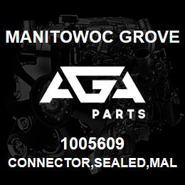 1005609 Manitowoc Grove CONNECTOR,SEALED,MALE,02 | AGA Parts