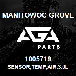1005719 Manitowoc Grove SENSOR,TEMP,AIR,3.0L GM | AGA Parts