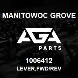 1006412 Manitowoc Grove LEVER,FWD/REV | AGA Parts