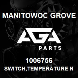 1006756 Manitowoc Grove SWITCH,TEMPERATURE N.O. 3/8NPT | AGA Parts