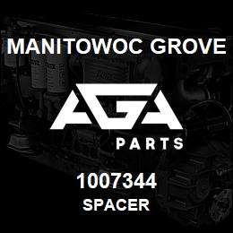 1007344 Manitowoc Grove SPACER | AGA Parts