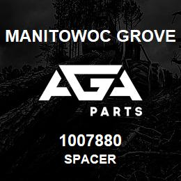 1007880 Manitowoc Grove SPACER | AGA Parts
