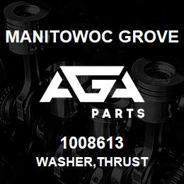 1008613 Manitowoc Grove WASHER,THRUST | AGA Parts