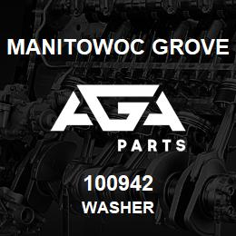 100942 Manitowoc Grove WASHER | AGA Parts