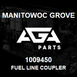 1009450 Manitowoc Grove FUEL LINE COUPLER | AGA Parts