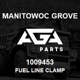 1009453 Manitowoc Grove FUEL LINE CLAMP   AGA Parts