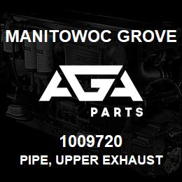 1009720 Manitowoc Grove PIPE, UPPER EXHAUST | AGA Parts