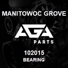 102015 Manitowoc Grove BEARING | AGA Parts