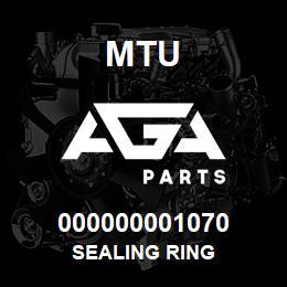 000000001070 MTU SEALING RING | AGA Parts
