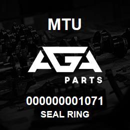 000000001071 MTU Seal Ring   AGA Parts