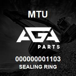000000001103 MTU SEALING RING | AGA Parts