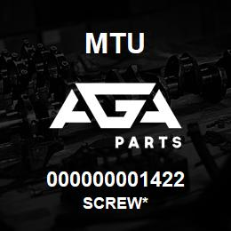 000000001422 MTU Screw* | AGA Parts