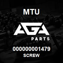 000000001479 MTU Screw | AGA Parts