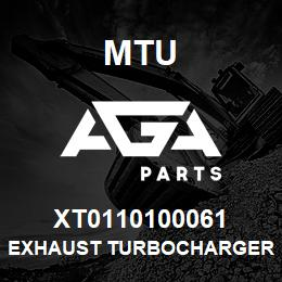 XT0110100061 MTU EXHAUST TURBOCHARGER RIGHT SIDE | AGA Parts