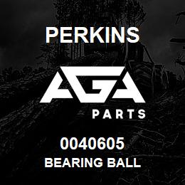 0040605 Perkins BEARING BALL | AGA Parts
