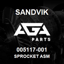 005117-001 Sandvik SPROCKET ASM | AGA Parts