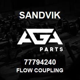 77794240 Sandvik FLOW COUPLING | AGA Parts