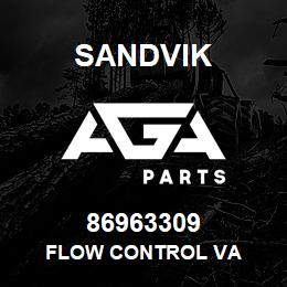 86963309 Sandvik FLOW CONTROL VA | AGA Parts