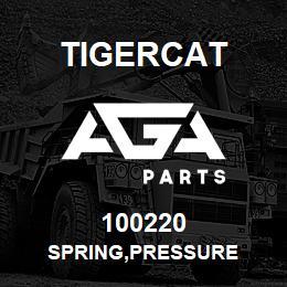 100220 Tigercat SPRING,PRESSURE   AGA Parts