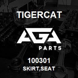 100301 Tigercat SKIRT,SEAT | AGA Parts