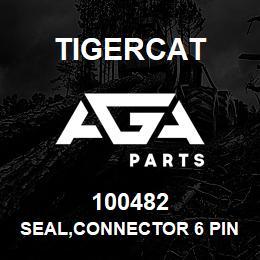 100482 Tigercat SEAL,CONNECTOR 6 PIN   AGA Parts