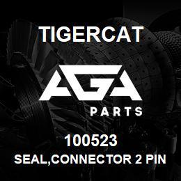100523 Tigercat SEAL,CONNECTOR 2 PIN | AGA Parts