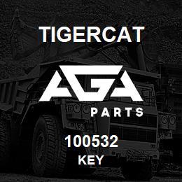 100532 Tigercat KEY | AGA Parts