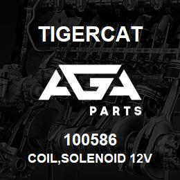 100586 Tigercat COIL,SOLENOID 12V | AGA Parts