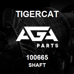 100665 Tigercat SHAFT | AGA Parts