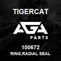 100672 Tigercat RING,RADIAL SEAL | AGA Parts