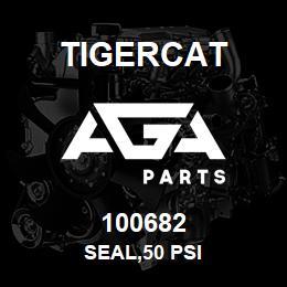 100682 Tigercat SEAL,50 PSI | AGA Parts